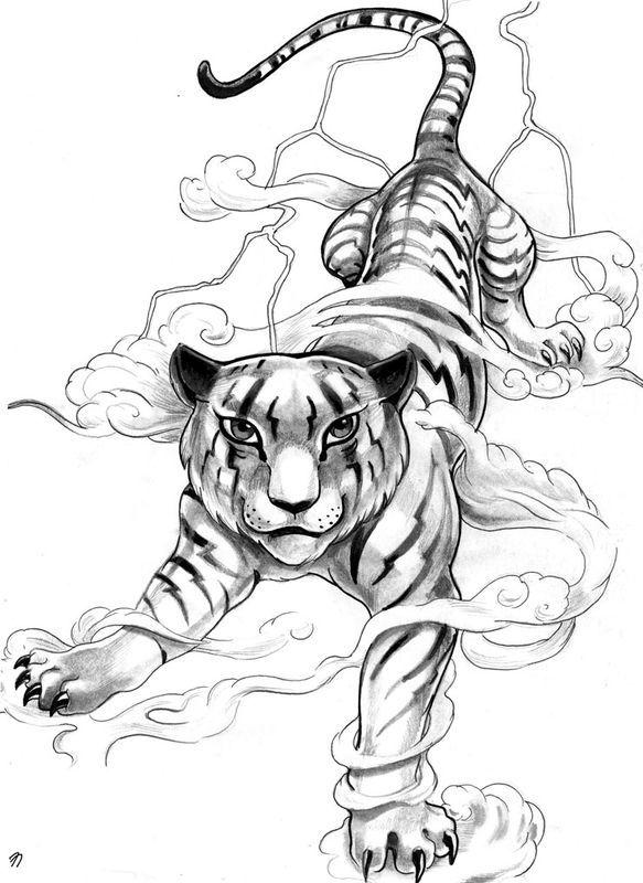 Tattoos pinterest dragon - Dragon japonais dessin ...