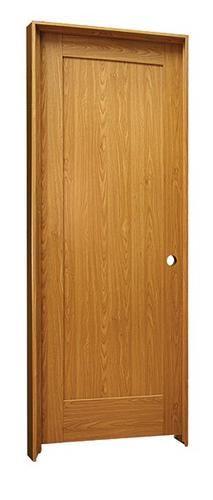 Mastercraft 30 X 80 Prefinished Craftsman 1 Panel Int Door Lh At Menards Prehung Doors Basement House Craftsman Style