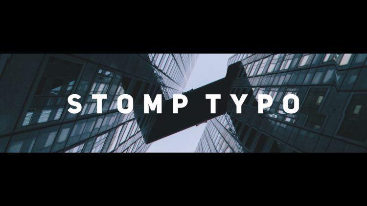 Stomp Typo Davinci Resolve Template Templates Typo