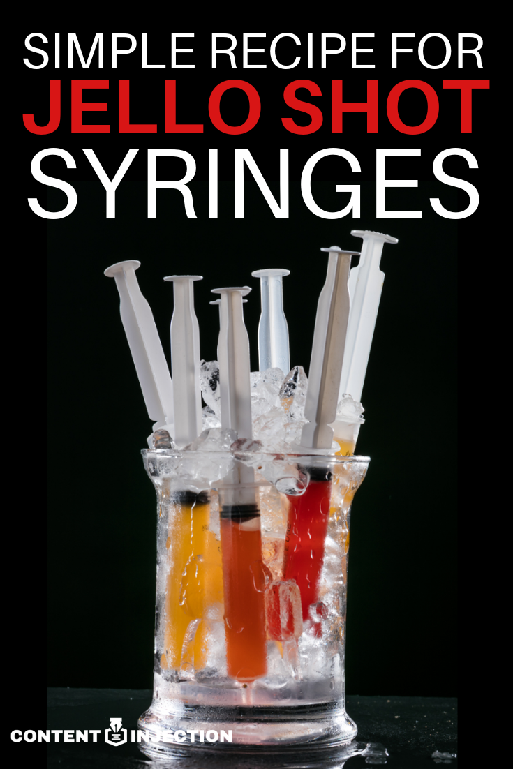 If you plan on serving a variety of jello shots or alcohol at your next party, you may want to use jello shot syringes. In this article, we have provided a simple recipe for jello shot syringes, as well as an alternative to jello syringes. #JelloShotSyringesRecipe #HowToMakeJelloShotSyringes #jelloshots