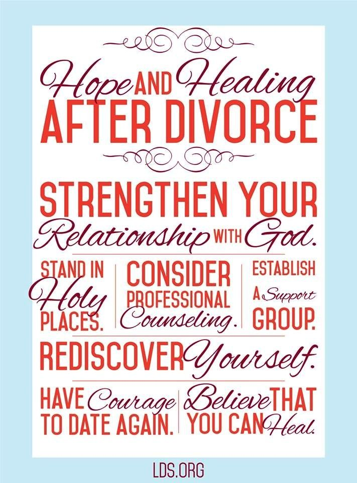 Divorce is not the end. There IS life after divorce, and it can be a ...