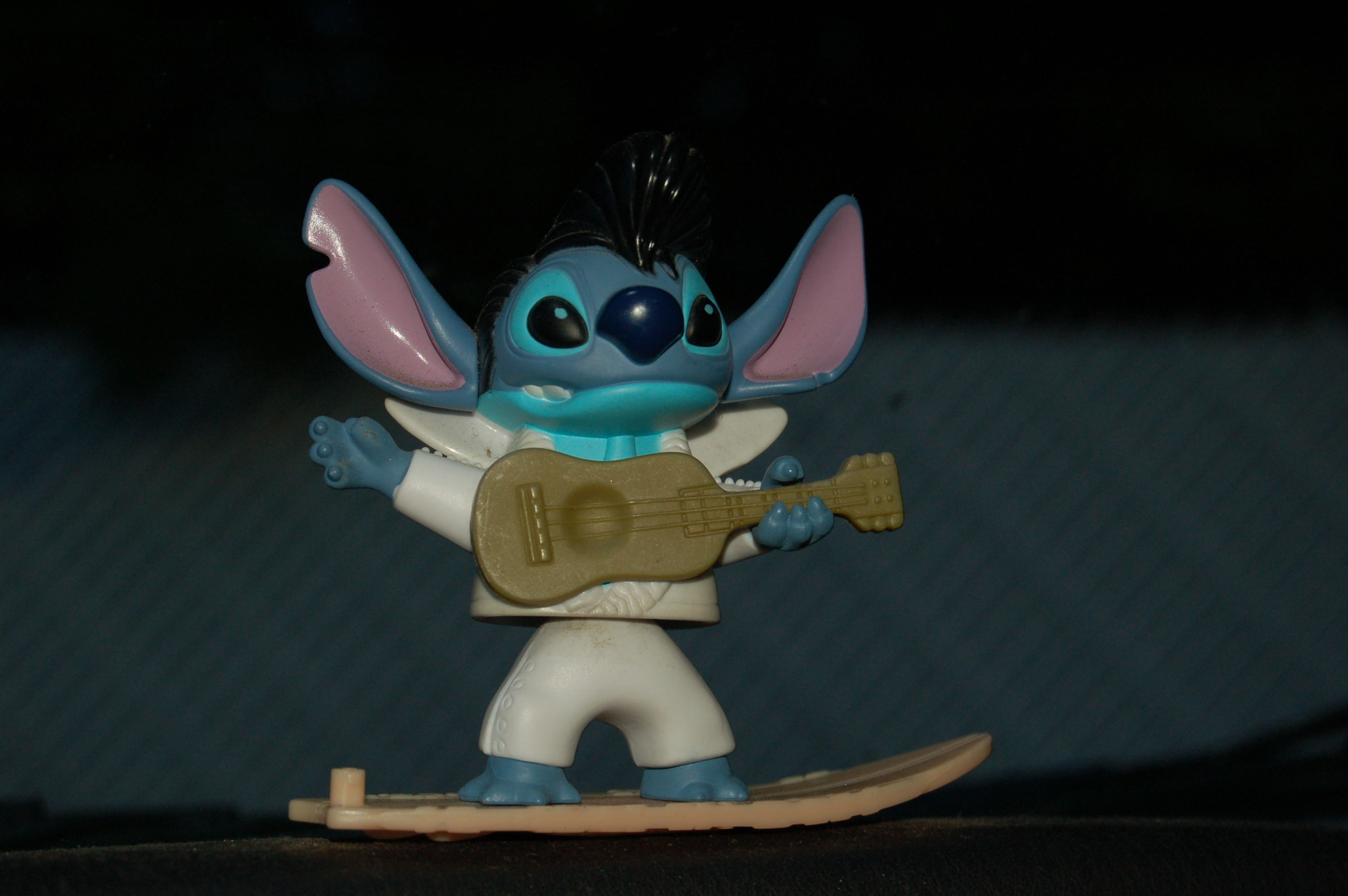 Stitch as Elvis from Lilo & Stitch This one's been riding