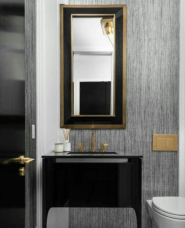"Inside Stores Canada on Instagram ""An Art Deco bathroom"