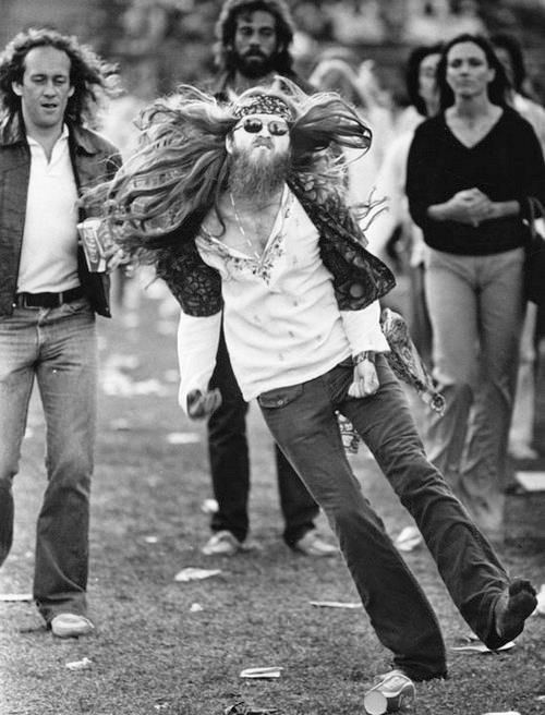 At The Rolling Stones Concert In 1981