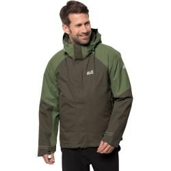 Photo of Jack Wolfskin 3-in-1-Hardshell-Herren Steting Peak Jacket Herren XL grün Jack WolfskinJack Wolfskin