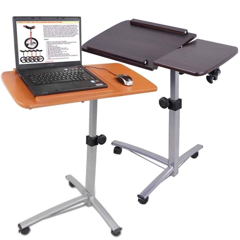 Portable Computer Desk On Wheels