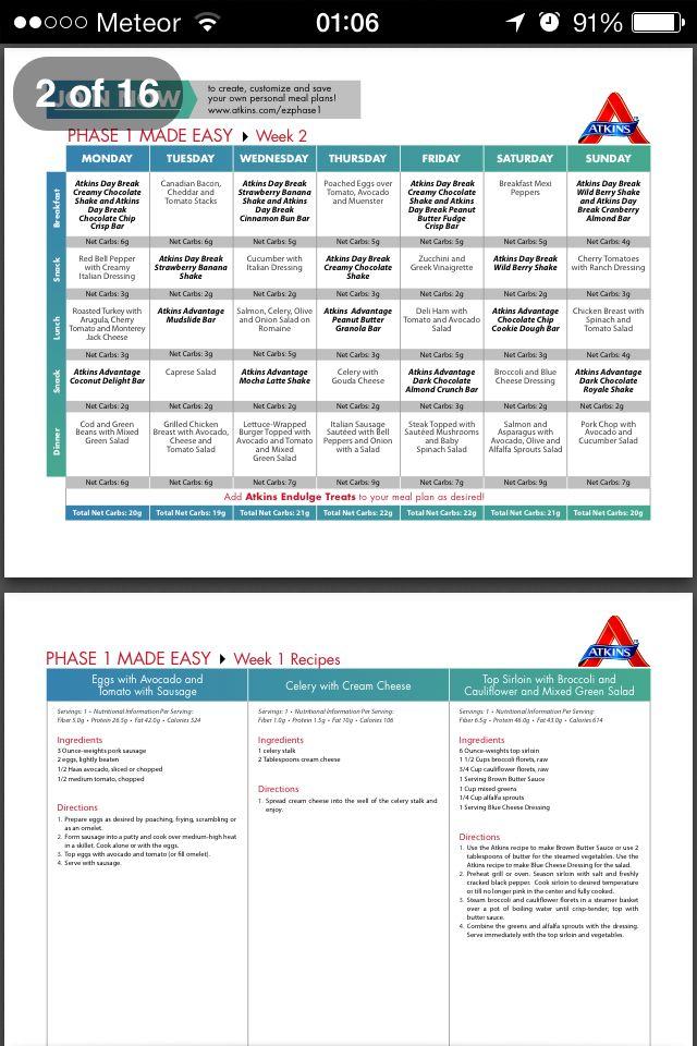 Atkins Atkins Atkins Shakes Atkins Diet Diet Recipes