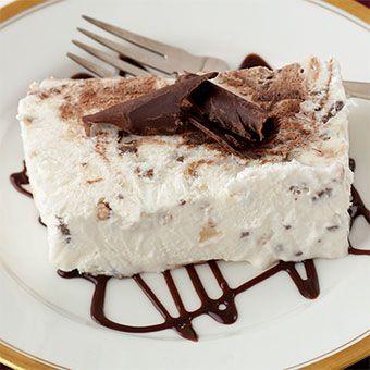 Dark Chocolate Toffee Tortoni