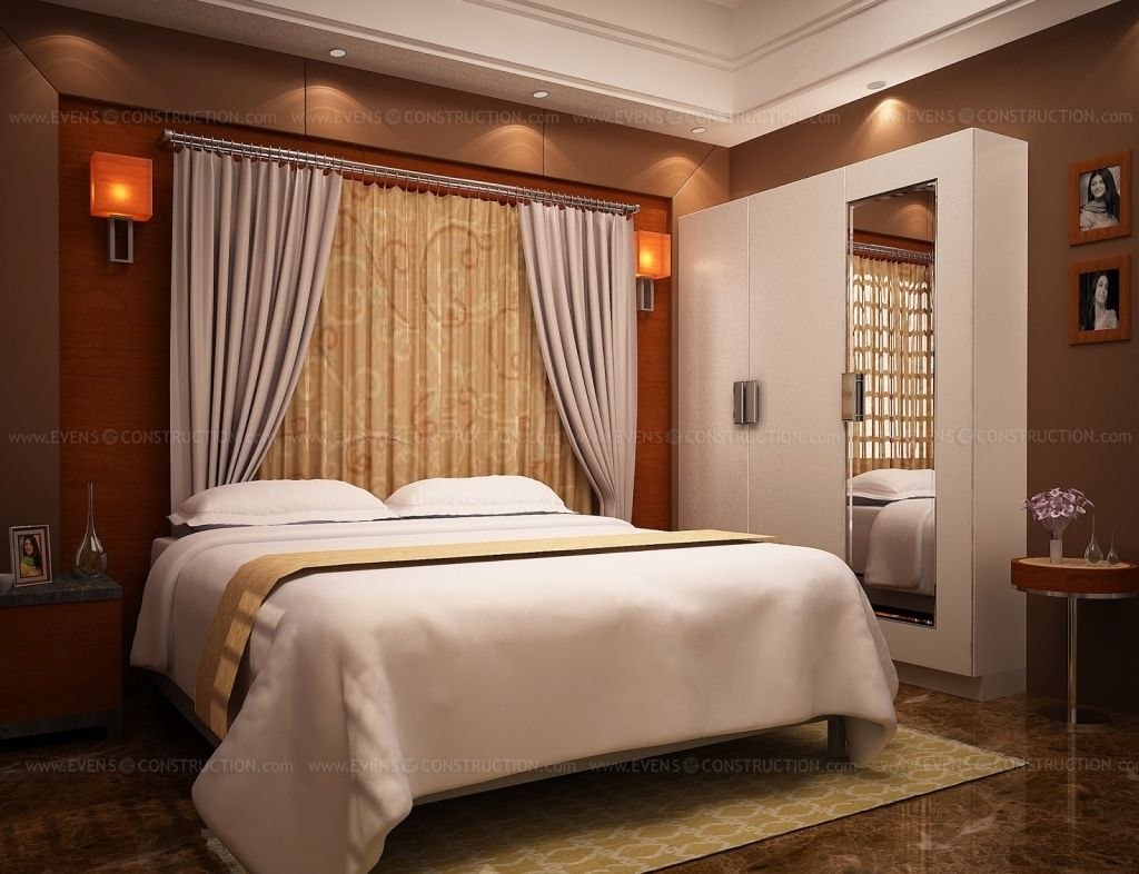 Bedroom interior design kerala style trends contemporary for Kerala style interior design photos
