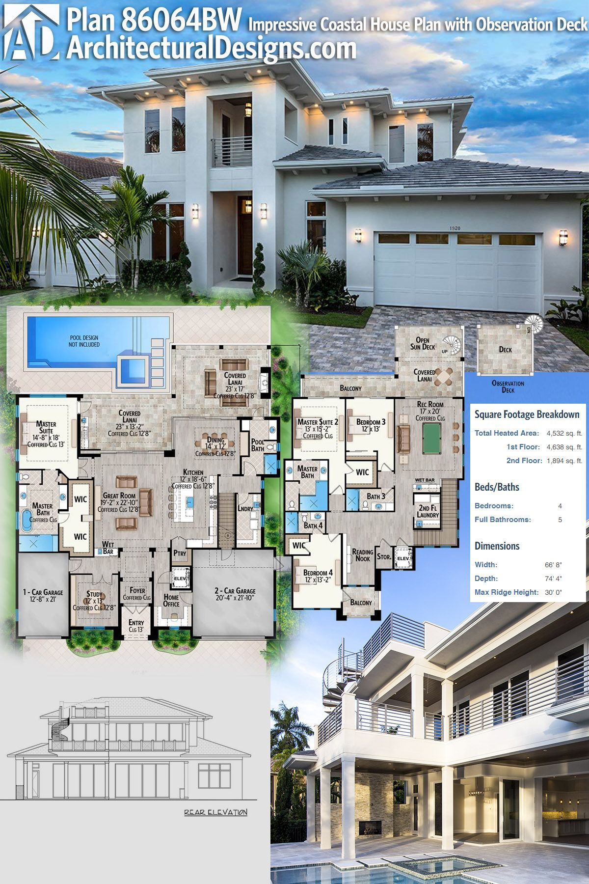Architectural Designs House Plan 86064BW gives you