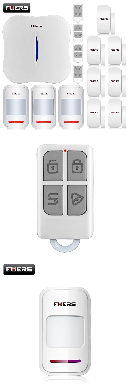 2016 New KERUI W1 WIFI Home Burglar Security Alarm System