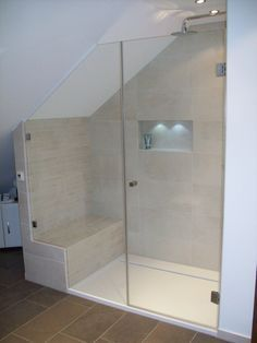 Duschkabine Für Dachschräge dusche in dachschräge suche ähnliche tolle projekte und