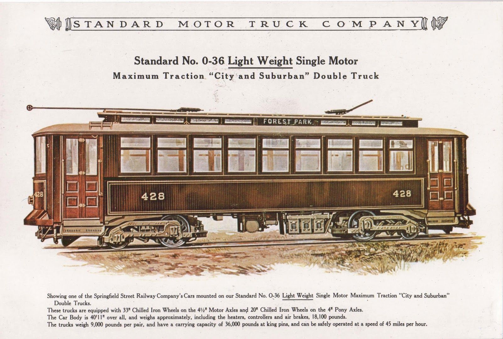 Tranvía de Springfield MA, USA