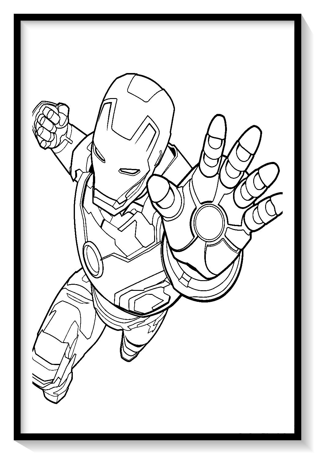 6818ae9fd1dfac6f90d731898bc0bd1e » Evil Ironman Coloring Pages