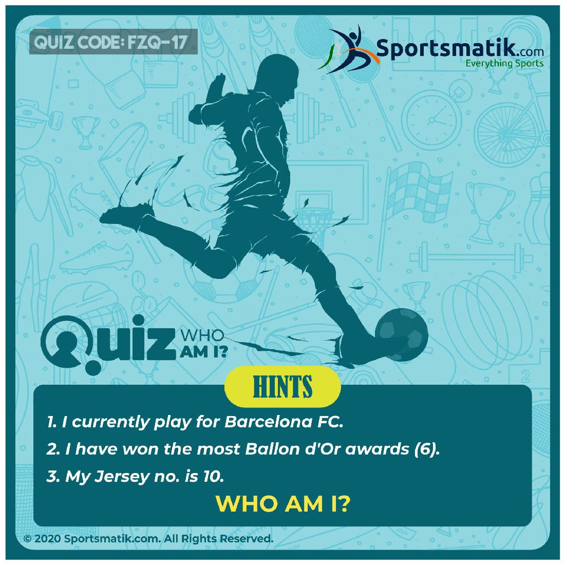 my footbal quiz.. learners have to match each picture with