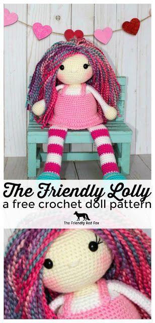 The Friendly Lolly- a Free Crochet Doll Pattern