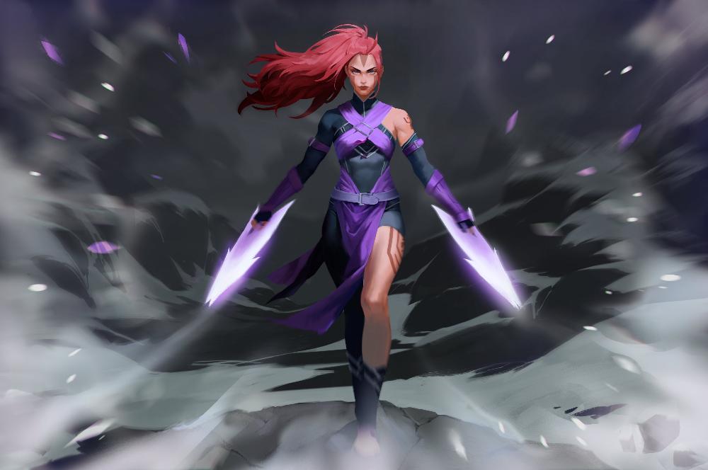 騎士 Busy On Twitter Dota2 Heroes Dota 2 Illustration
