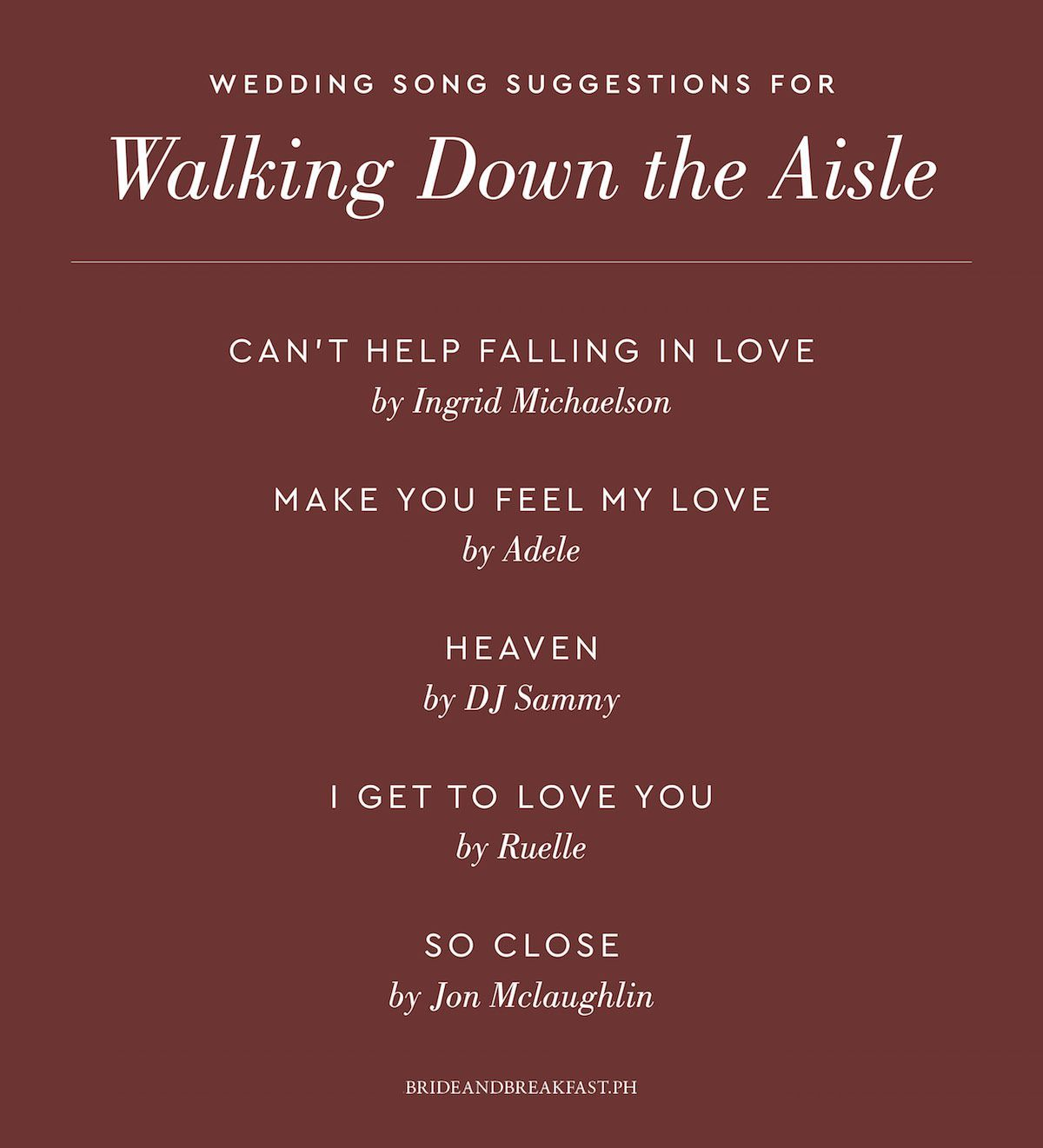 Bridal Processional Songs: Wedding Music: What To Play And When To Play It