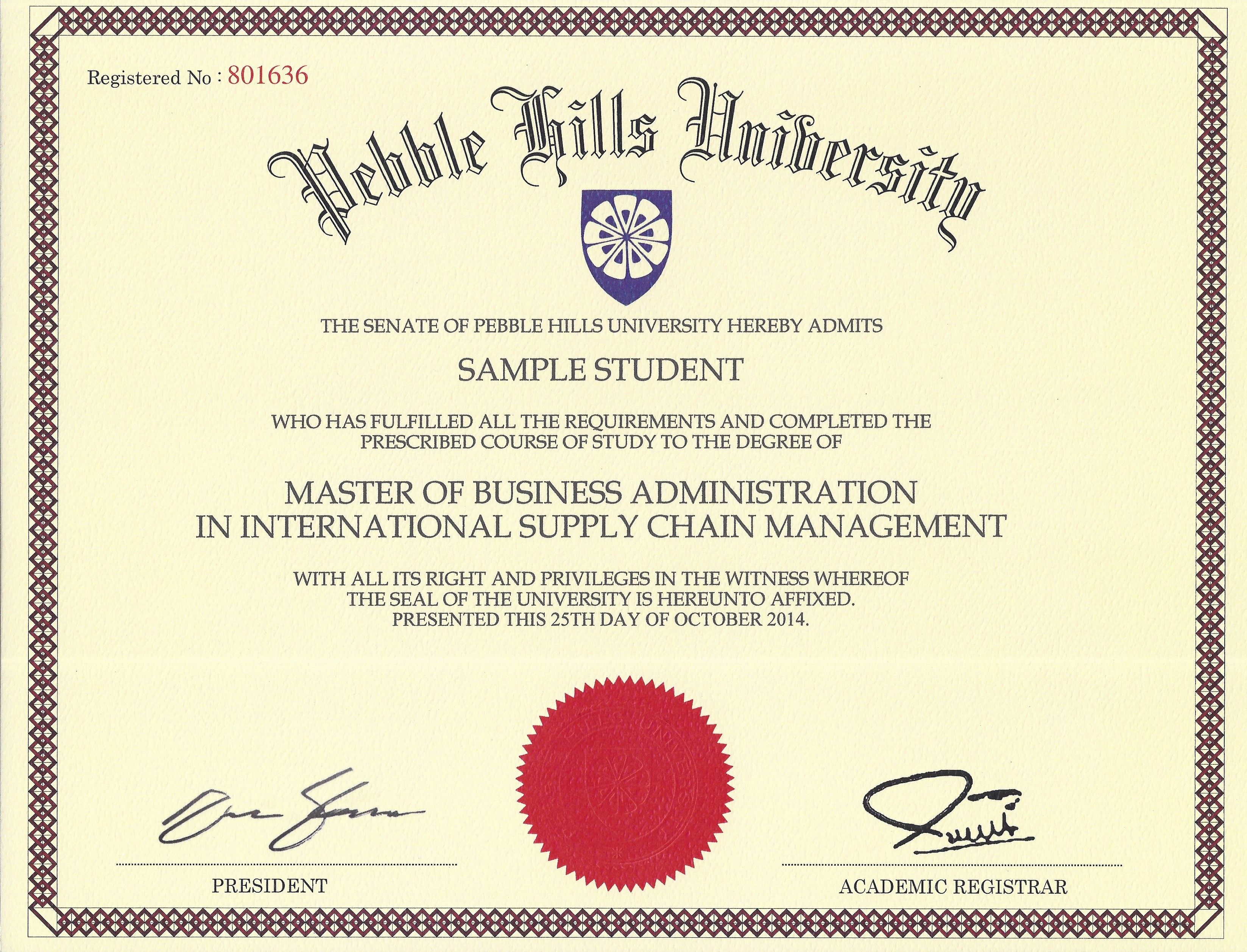 Sample degree certificate exolabogados sample degree certificate yadclub Image collections