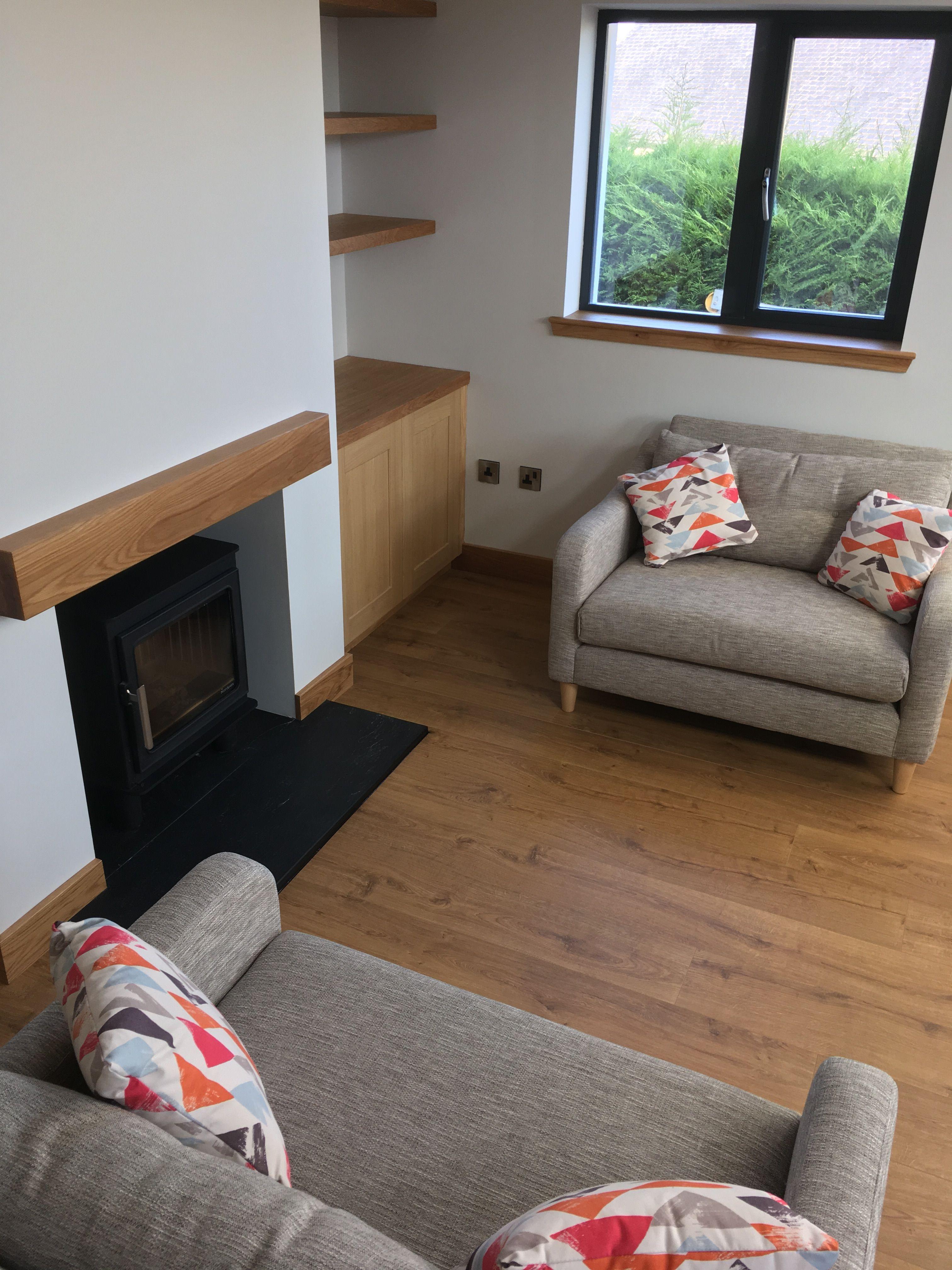 Fireplace Open plan kitchen, Fireplace, Kitchen living