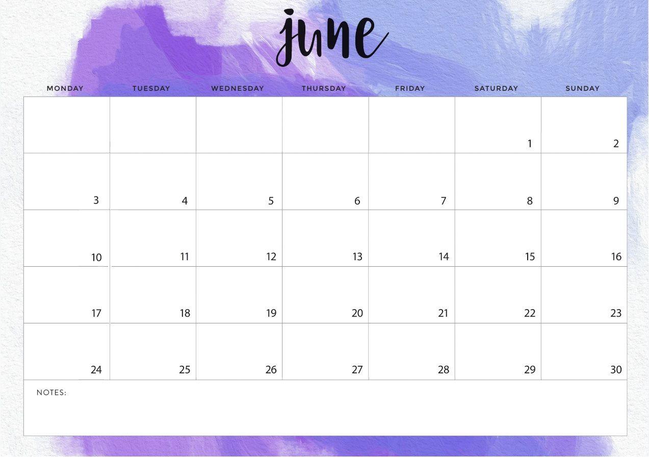 June 2019 Calendar Printable Template With Holidays Calendar