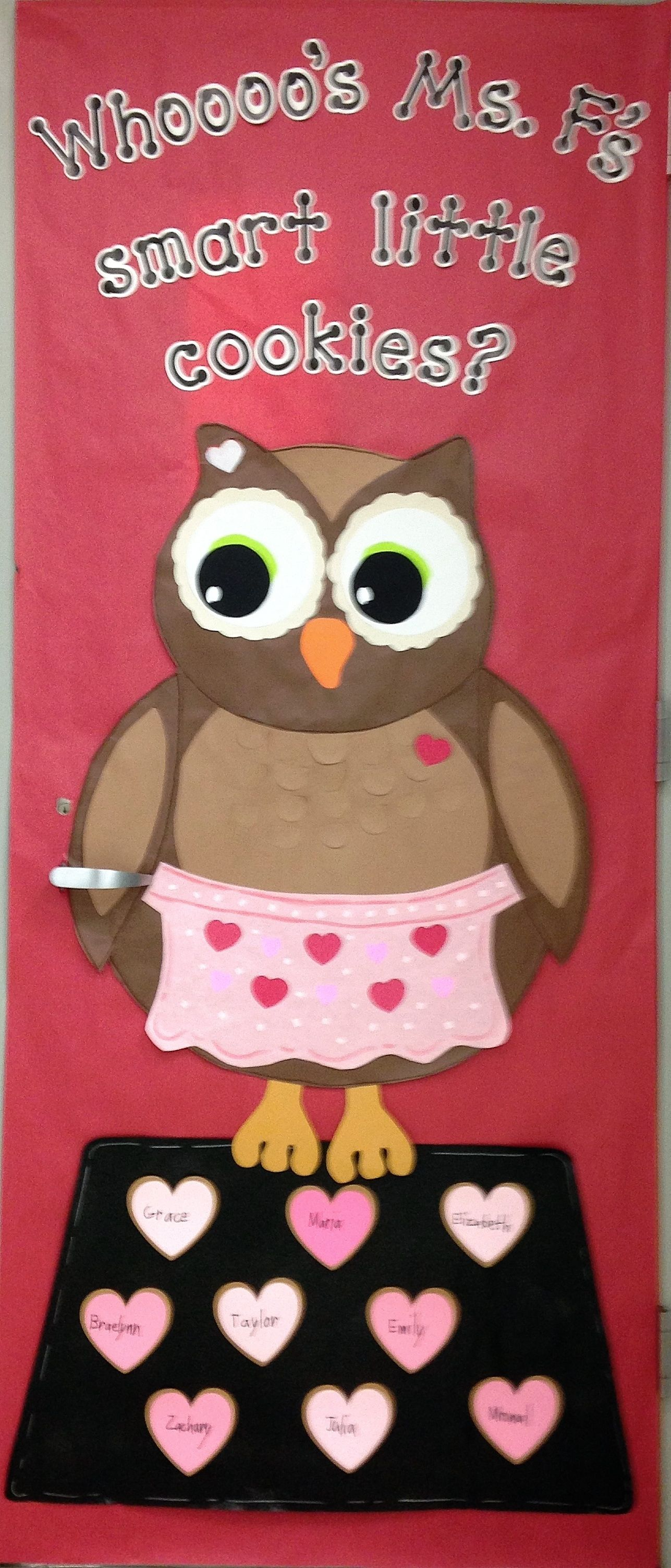 Classroom Valentines Design ~ Valentine day classroom door winter