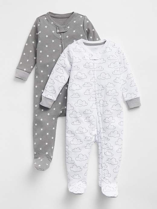 4a8b14584 Gap Cloud Footed One-Piece (2-Pack) | Products | Pinterest | Baby ...