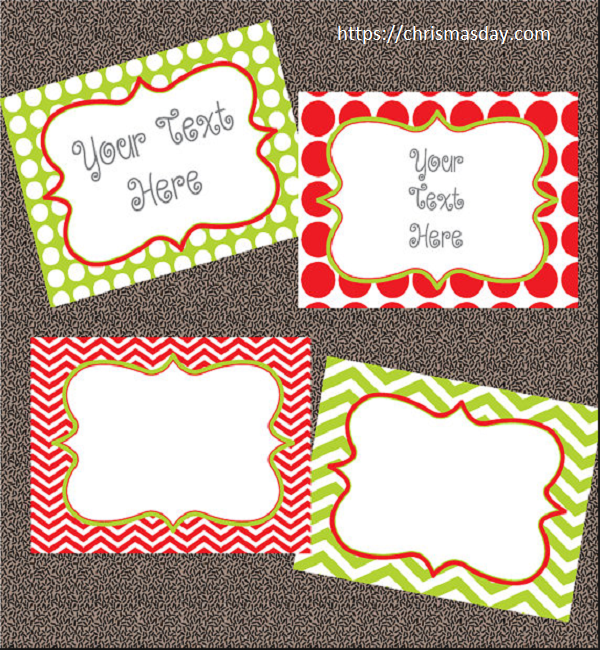 Editable Christmas Labels.Free Editable Christmas Labels Christmas Decorations