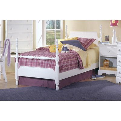 Carolina Furniture Works, Inc. Carolina Cottage Twin Four Poster  Customizable Bedroom Set
