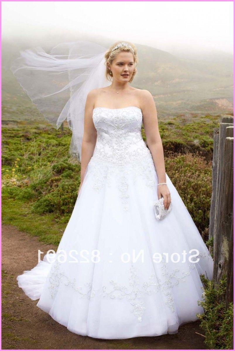 Wedding dresses for plus size brides  Plus Size Bridal Gown Shopping Tips  Plus size  Pinterest