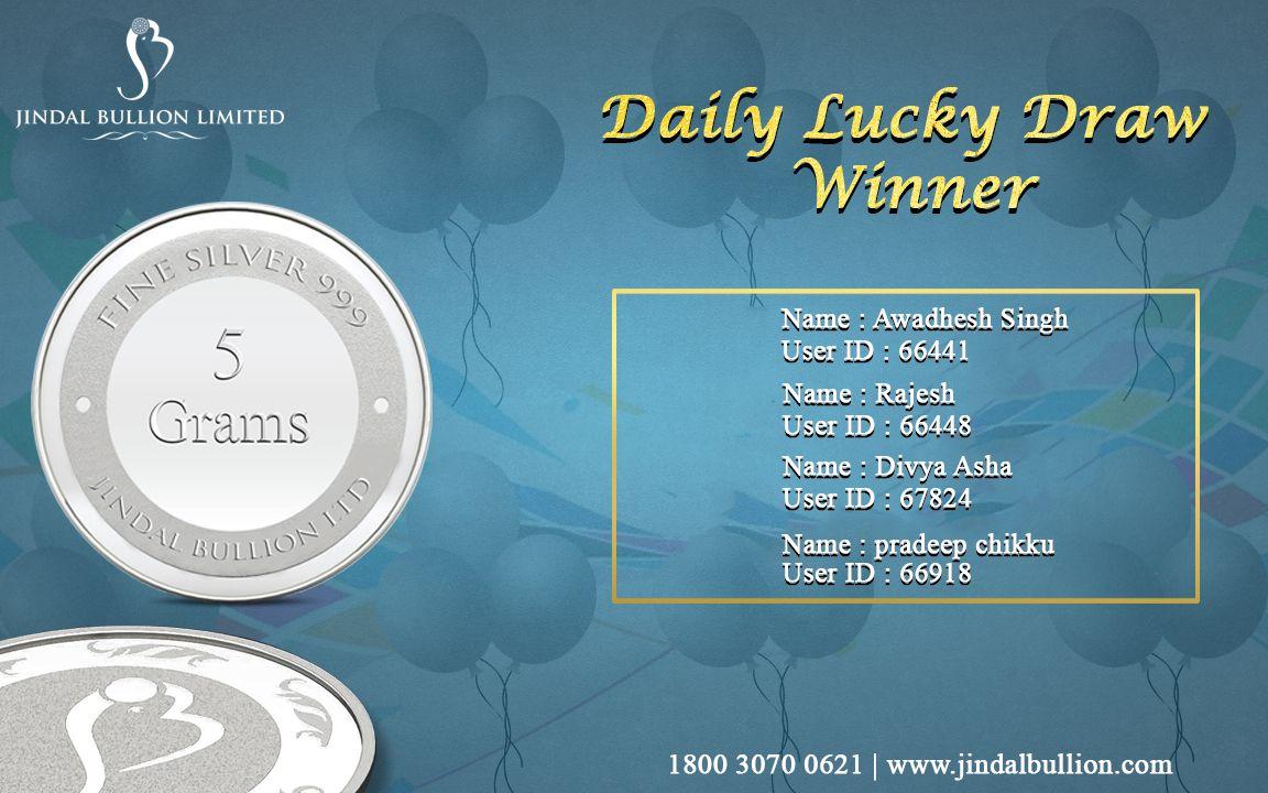 Congratulations Winners!! You've won the #LoginandWin