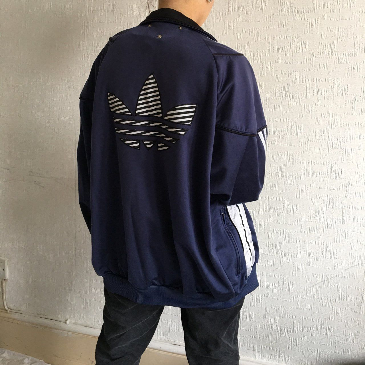 ffe028acb688a Vintage adidas jacket || very good condition || 🌿 follow my insta for free  postage || ignore ### wavy retro vintage 00s 90s 80s y2k tracksuit coat