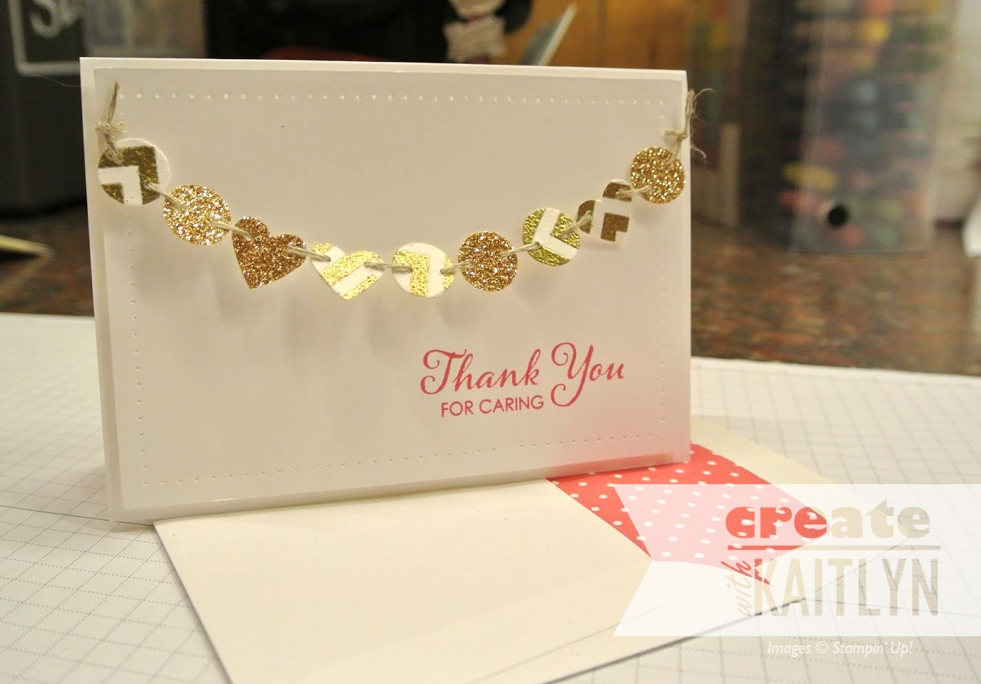 DIY gold cards  Paper and Fonts  Pinterest  Mondays Card ideas
