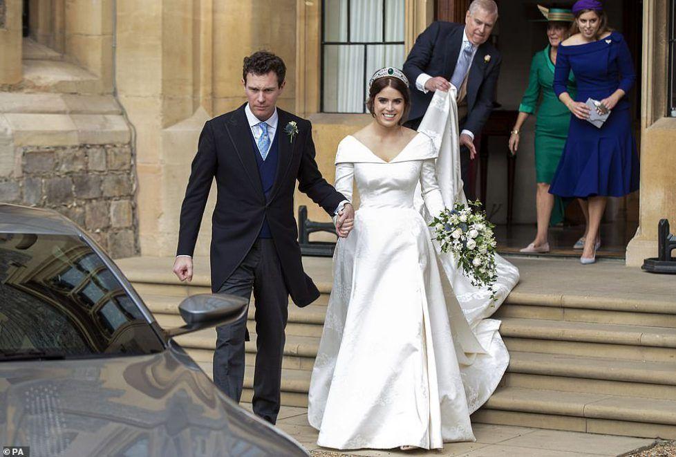 Pin Auf Princess Eugenie D York Wedding