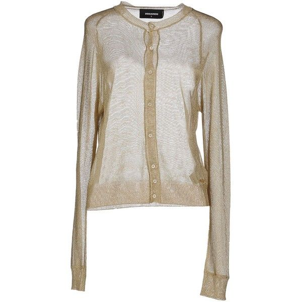 Dsquared2 Cardigan ($382) ❤ liked on Polyvore featuring tops ...