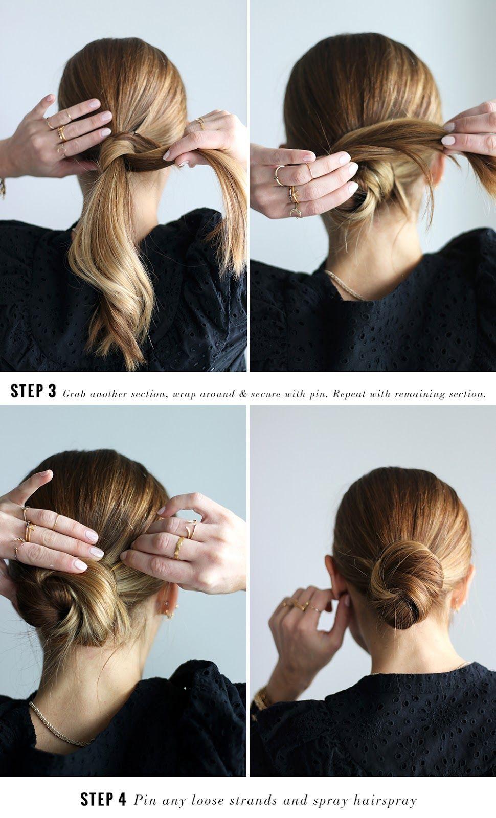 Diy File The Easiest Hair Bun Tutorial The Vault Files Easy