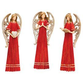 Glenda Angel Statuette (Set of 3)