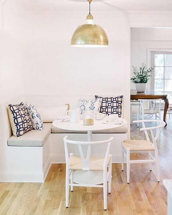 Inspiraci n para poner una mesa comedor en un espacio - Comedor pequeno decoracion ...