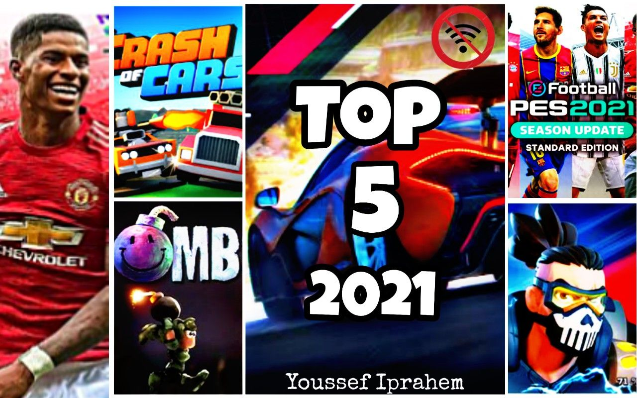 أفضل 5 ألعاب 2021 للهاتف بدون نت Top 5 Games Football Tops Baseball Cards Football