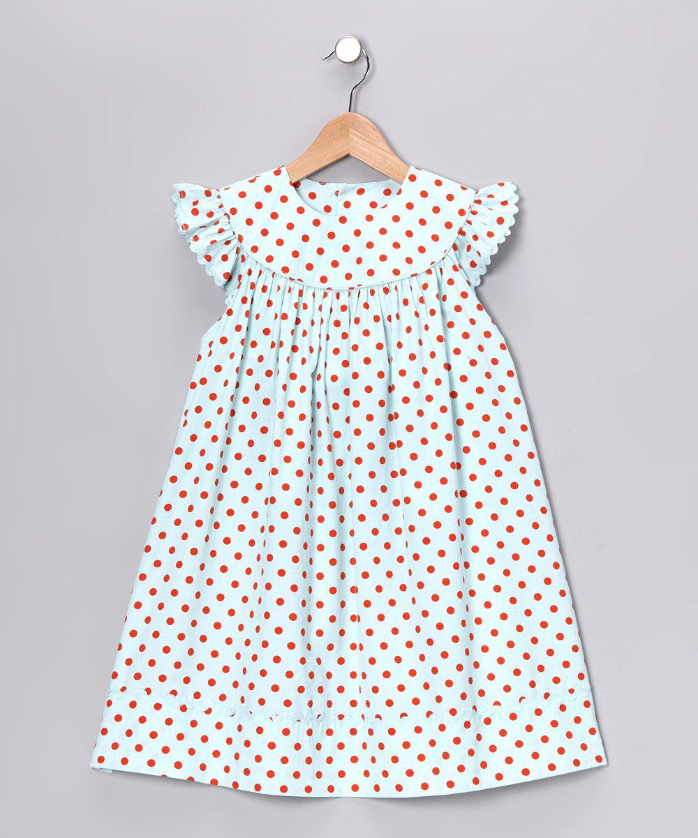 Aqua Angel-Sleeve Dress - Infant, Toddler & Girls #zulily #fall