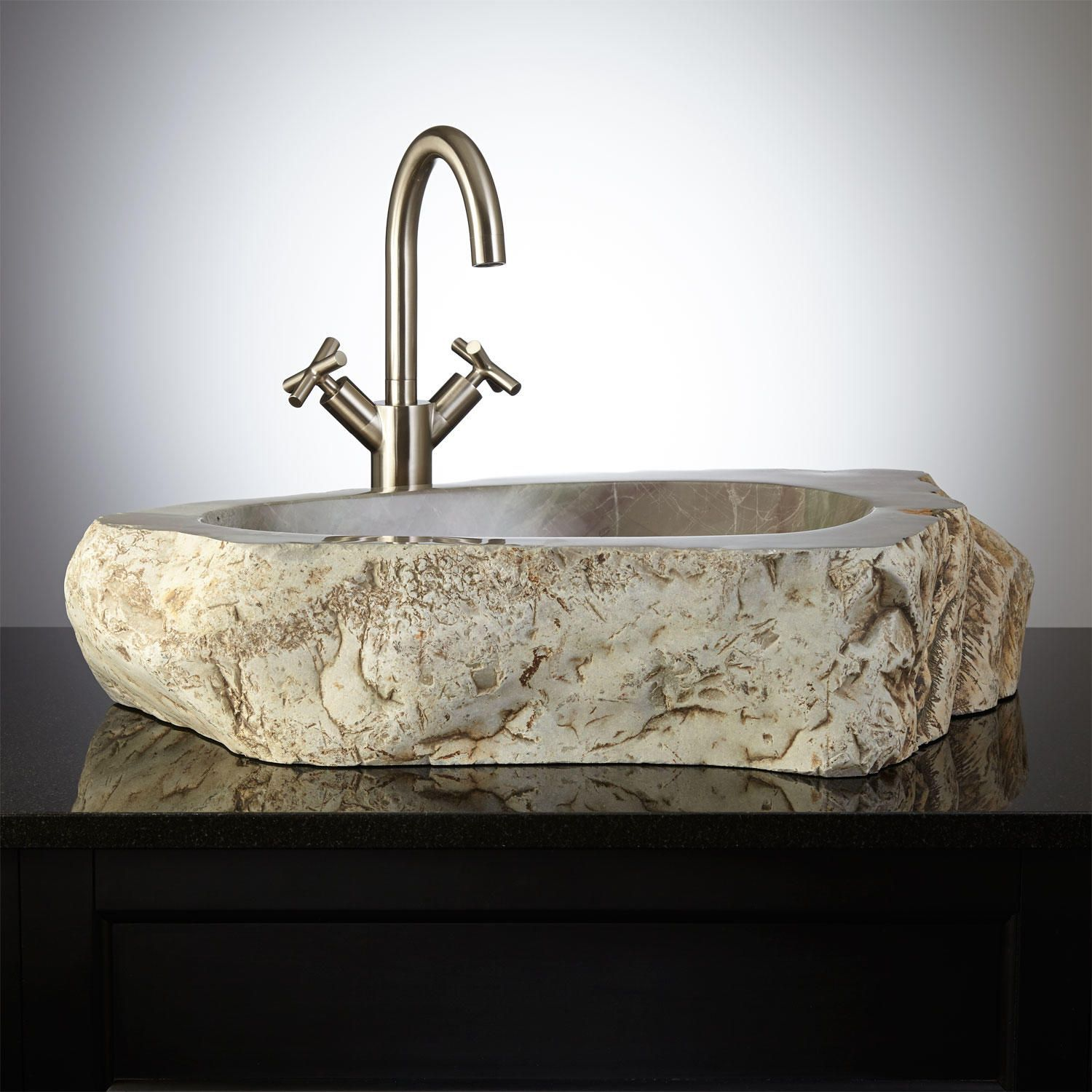 Atai Natural Stone Vessel Sk Products Pterest Vessel