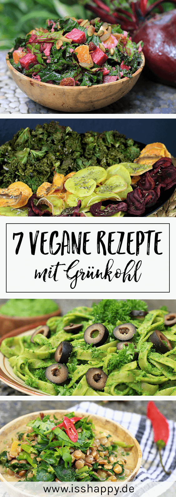 Photo of 7 simple vegan kale recipes – delicious & healthy – eat h …