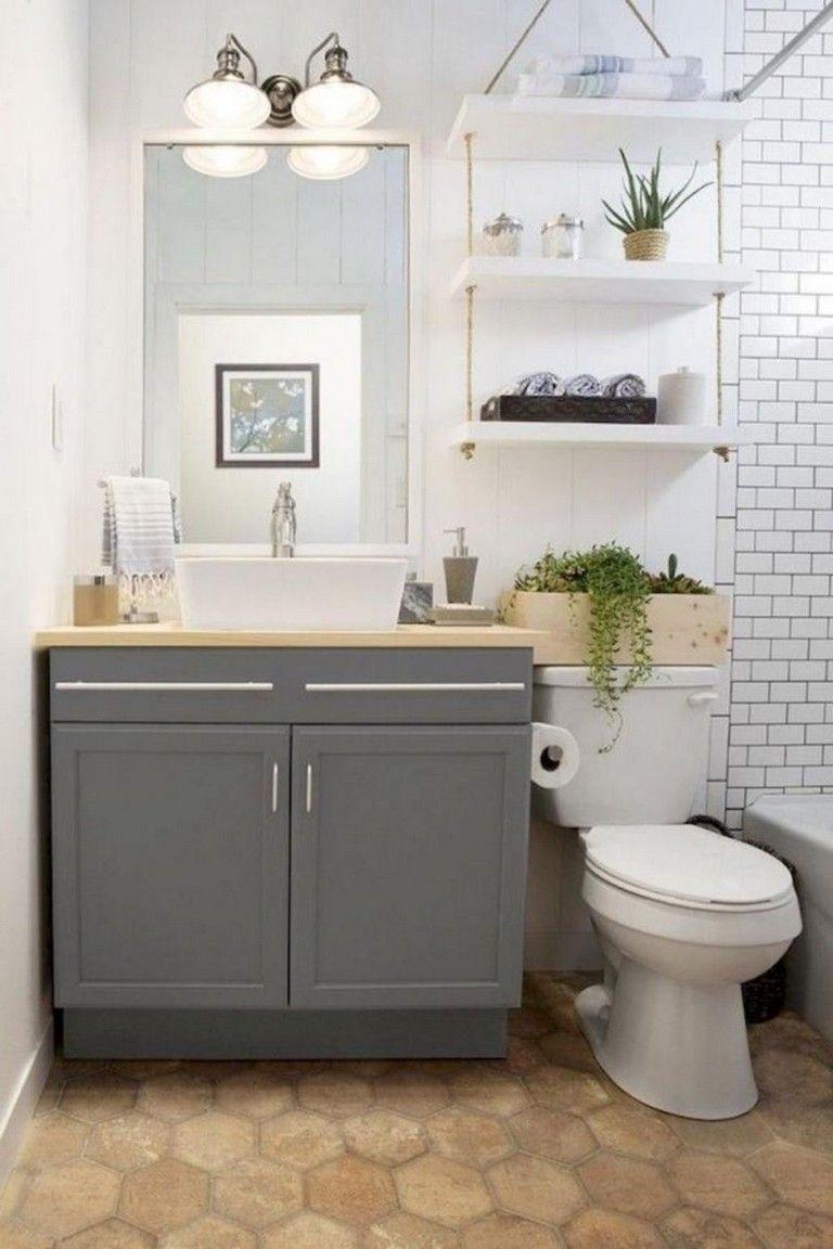 45 Picturesque Small Bathroom Decor Ideas Small Bathroom Decor