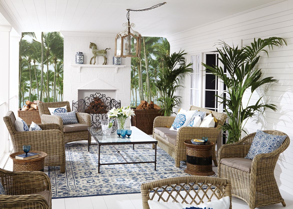 Bring A Bit Of Paradise Into Your Home Combine Clic French Colonial Style With Natural Woven Textures Eastern Inspired Accessories And Faux Exotic