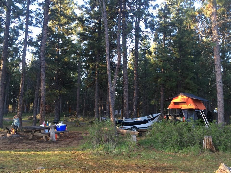 camping in the woods. Brandon Tent Topped Camping In The Woods With A Ruggedized XL Roof Top Style Unit