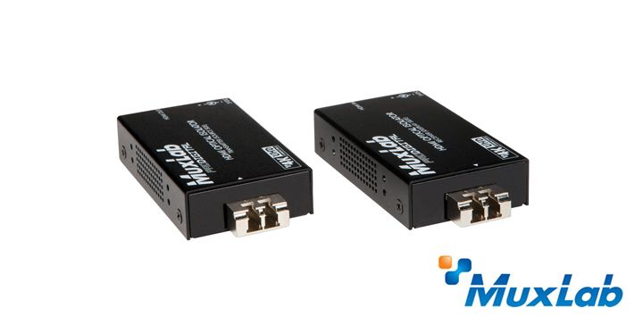The HDMI Optical Isolator (500462) allows HDMI equipment to be completely isolated and connected up to 984ft (300m), while allowing a unidirectional communication (with no return signaling) via one (1) LC 50/125 I¬m OM3 multimode fiber cable in a point-to-point configuration at 1080p resolution.