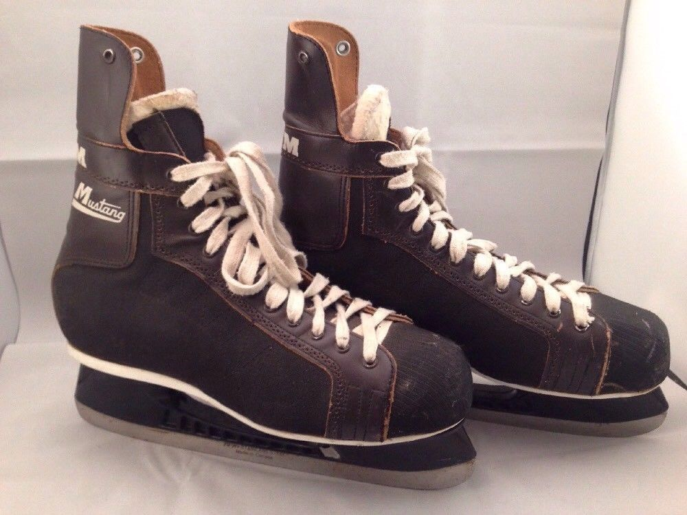 850880cbb Mens CCM Mustang Size 9 Ice Skates with 2000 TUUK BLADES (eBay Link ...