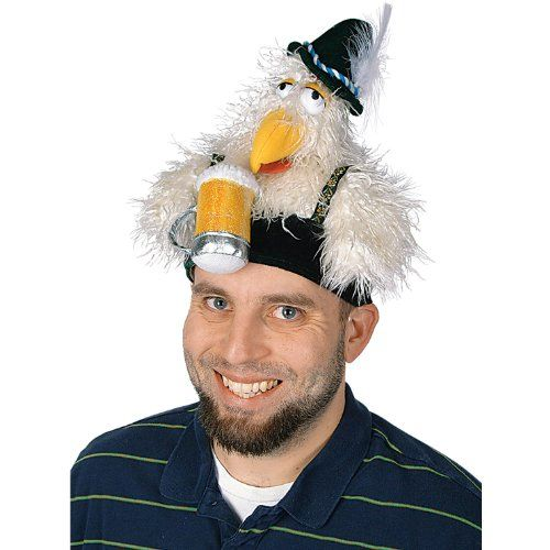 862d6509badce Oktoberfest - Plush Chicken Hat Party Accessory Official Costumes  http   www.amazon