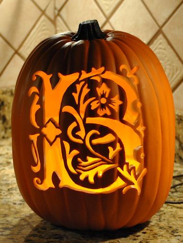 pumpkin carving templates b  Custom carving Letter B Pattern available on stoneykins.com ...