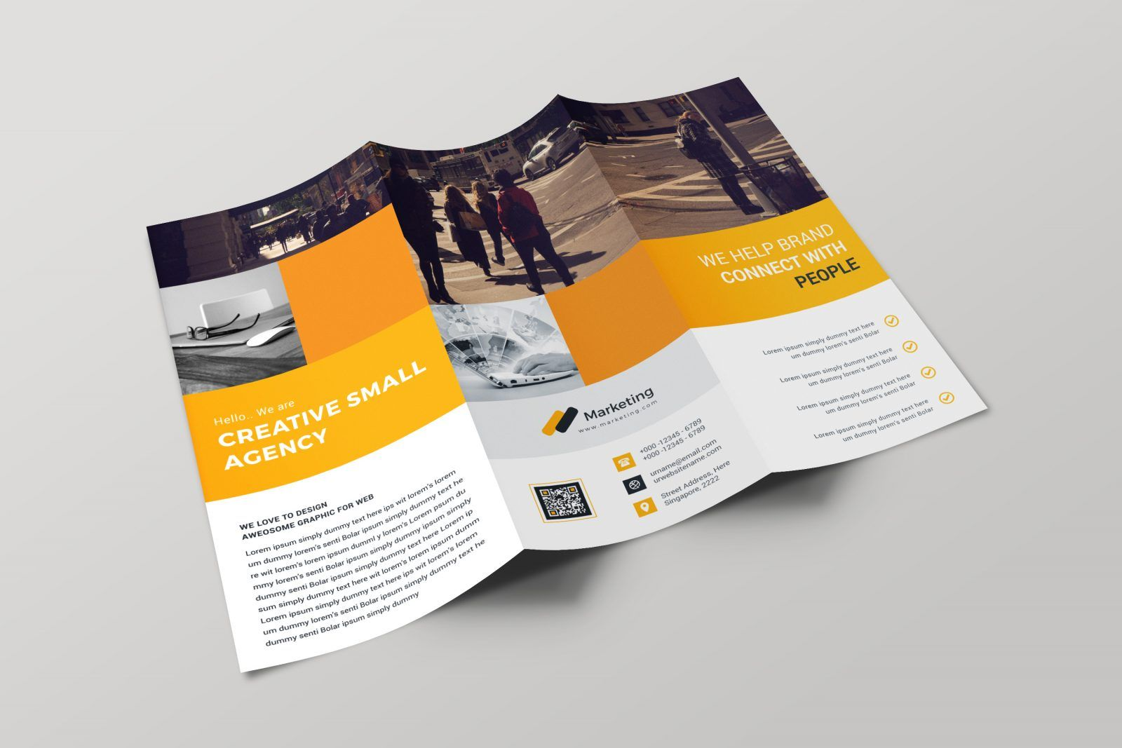 Pin On Graphic Template Template for tri fold brochure